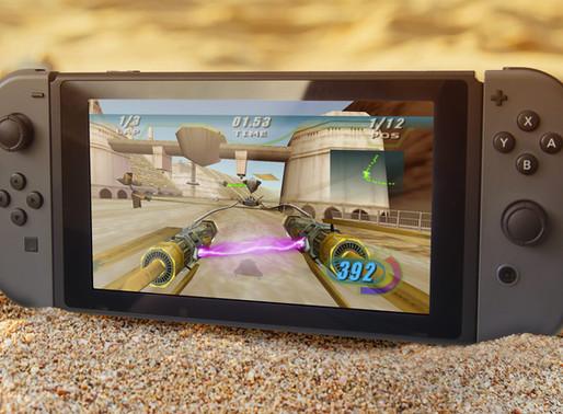 Star Wars Episode I Racer será lançado com miltiplayer de LAN no Switch, screenshots