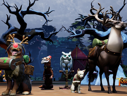 """Torchlight III recebe atualização """"Snow & Steam"""""""