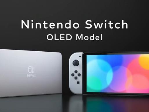 Conheça mais detalhes do Nintendo Switch MODELO OLED