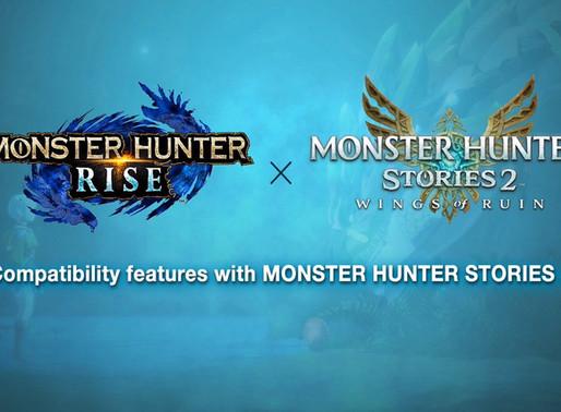 MONSTER HUNTER™ RISE E MONSTER HUNTER STORIES™ 2: WINGS OF RUIN CHEGAM AO NINTENDO SWITCH EM 2021