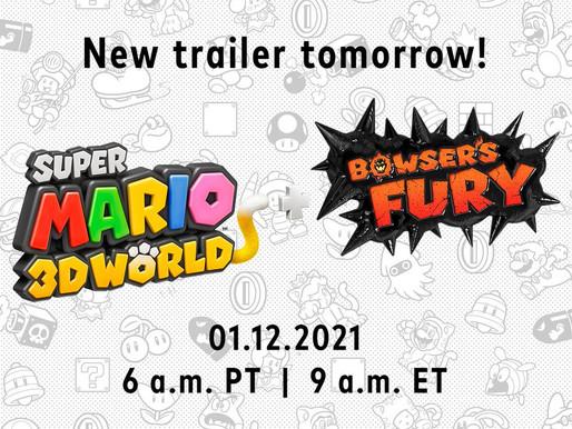 Novo trailer de Super Mario 3D World + Bowser Fury chega amanhã