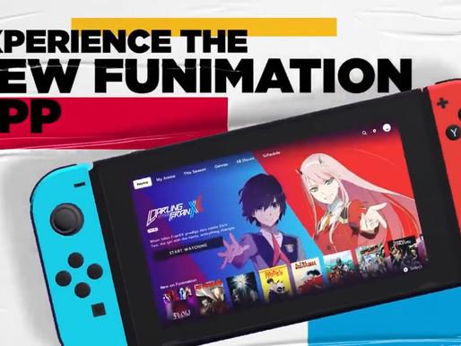 Aplicativo Funimation confirmado para Switch, chega amanhã