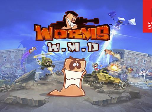 Worms W.M.D - Análise - O retorno triunfal do clássico no Nintendo Switch