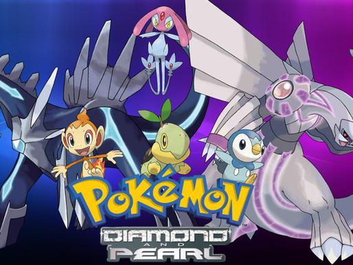 Rumor: Remakes de Pokémon Diamond e Pokémon Pearl chegam em 2021, Serão revelados em fevereiro