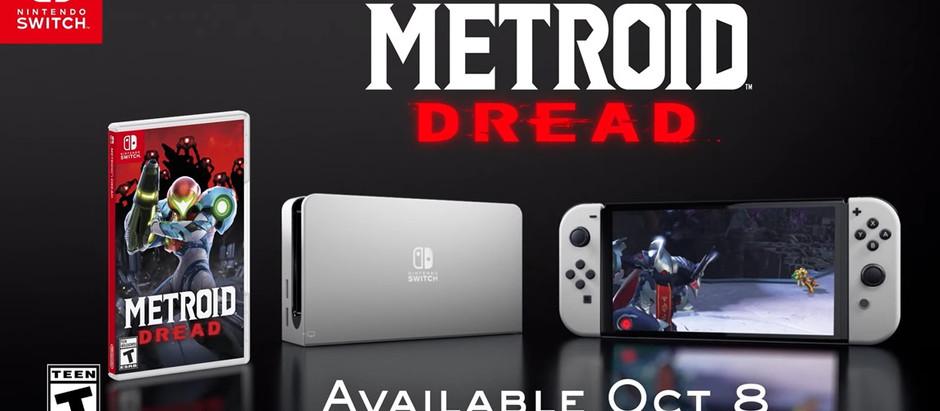 Metroid Dread recebe o primeiro comercial americano junto ao Switch OLED