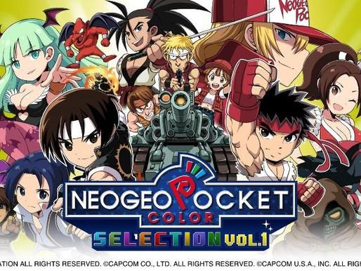 Clássicos do NeoGeo Pocket Color chegam ao Nintendo Switch com NeoGeo Pocket Color Selection Vol. 1