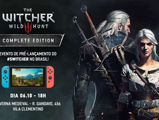 CD PROJEKT RED realiza evento de pré-lançamento de The Witcher 3 para Nintendo Switch em São Paulo