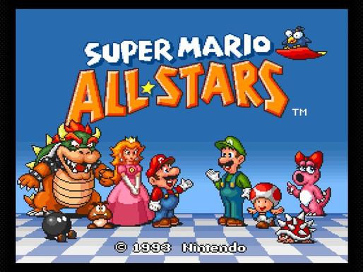 Super Mario All-Stars está chegando hoje ao Nintendo Switch Online