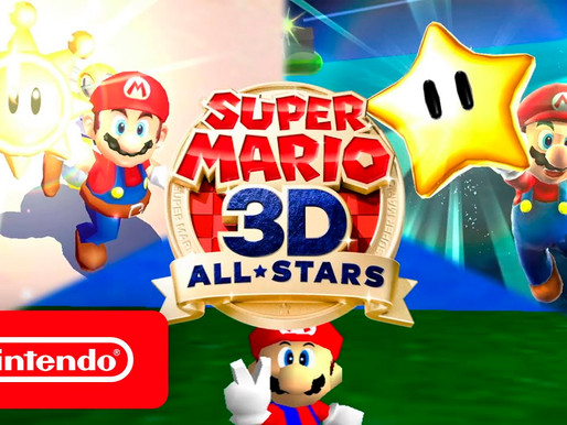 Super Mario™ 3D All-Stars está disponível para pré-venda na loja brasileira