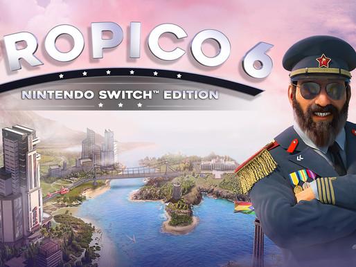 Review - Tropico 6 para Nintendo Switch - O melhor Simulador de Cidades do Console