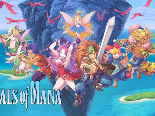 Trials of Mana Remake ganhará demo na loja japonesa amanhã