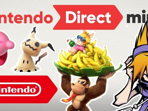 Resumão do mini Nintendo Direct 11/01/2018