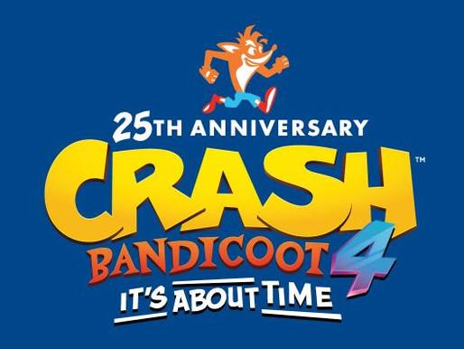 Crash Bandicoot 4: It's About Time já está disponível para Nintendo Switch