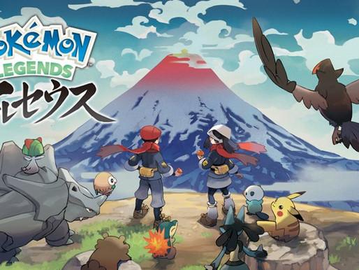 Pokémon Legends: Arceus chega em janeiro de 2022