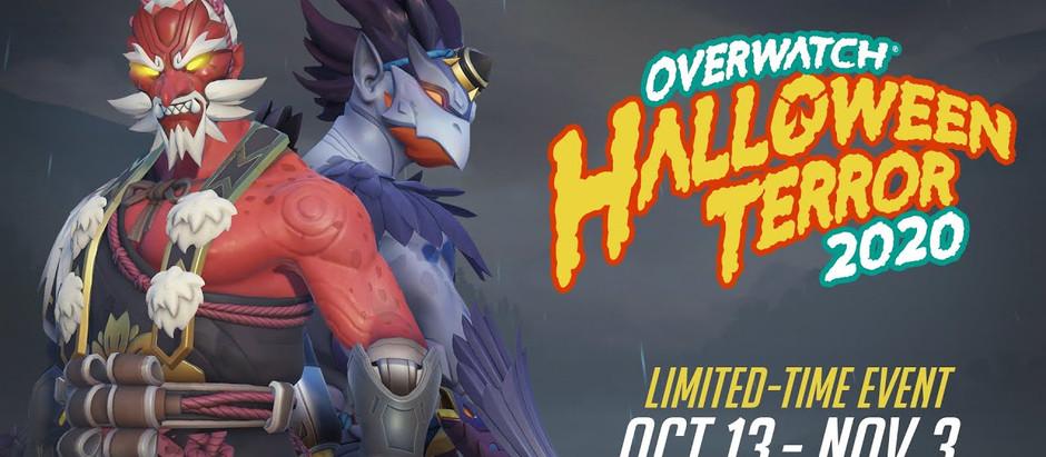 Overwatch já está gratuito e com evento de halloween