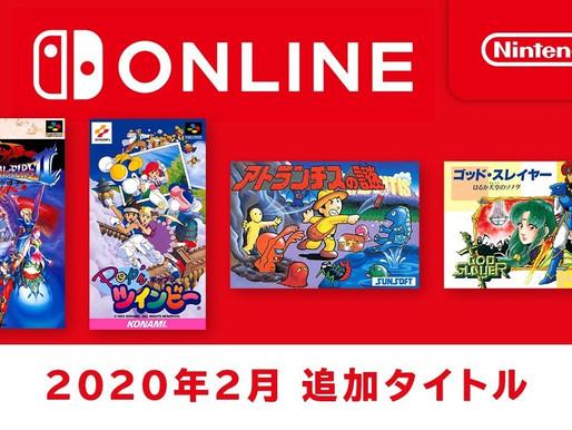 Mais 4 jogos clássicos chegarão às coleções de NES e SNES no Nintendo Switch Online em fevereiro