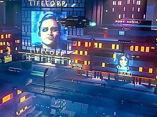 A ficção científica adere aos céus com listras de néon, enquanto Cloudpunk faz o seu caminho para Ni