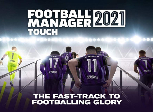 SEGA anuncia Football Manager 2021 Touch para Switch - Veja o Trailer