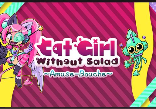 Cat Girl Without Salad: Amuse-Bouche recebeu um lançamento surpresa hoje no Nintendo Switch
