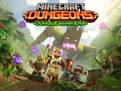 Minecraft Dungeons - Jungle Awakens DLC e atualização gratuita prevista para 1º de julho