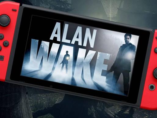 Alan Wake Remastered parece ter versão para Nintendo Switch
