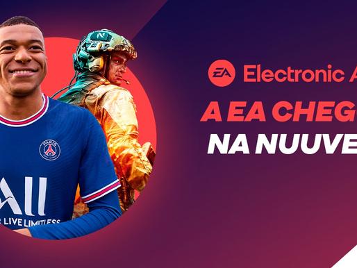 EA é a nova parceira oficial da Nuuvem