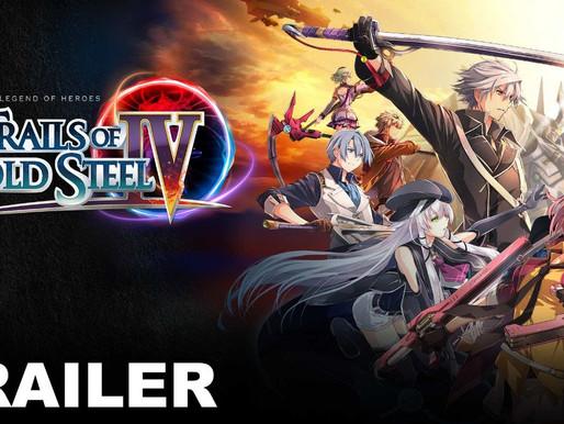 Trails of Cold Steel IV ganha novo trailer de história