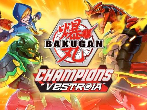 Bakugan: Champions of Vestroia é anunciado para Switch(atualizado)