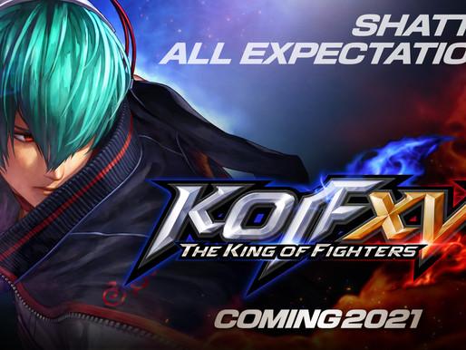 The King of Fighers XV revela seu primeiro trailer oficial e mais novidades de Samurai Shodown 3