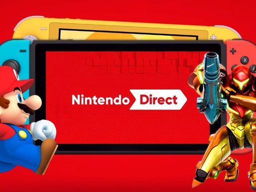 Nintendo Direct 23/07/21 - Resumo Oficial Nintendo