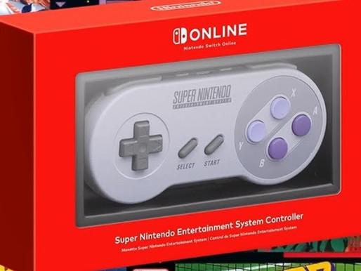 Super Nintendo chegará de graça ao Nintendo Switch Online