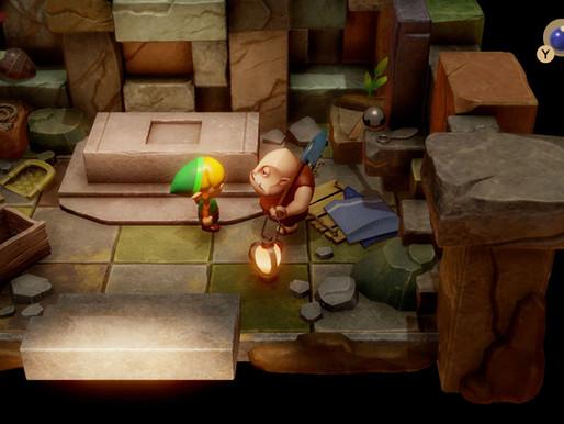 Zelda: Link's Awakening - Chamber Dungeon gameplay