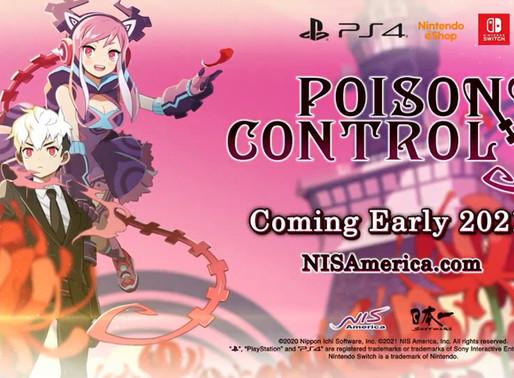 Poison Control é anunciado para Nintendo Switch