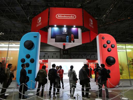 Nintendo domina o mercado americano de vendas de hardware em 2017