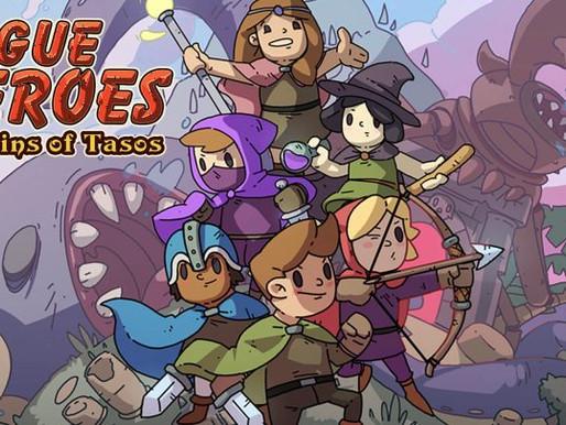 Rogue Heroes - Ruins Of Tasos já  está disponível para  Nintendo Switch e PC!