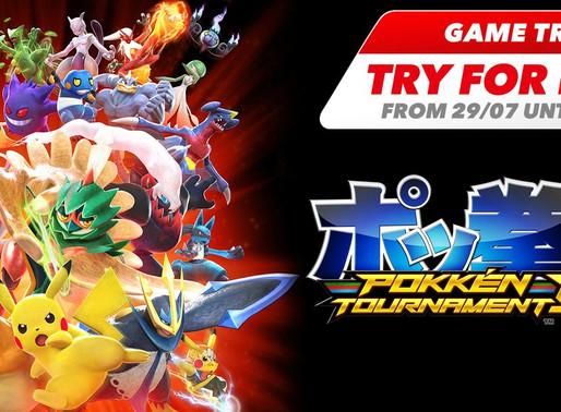 Assinantes do Nintendo Switch Online poderão jogar Pokken Tournament DX gratuitamente