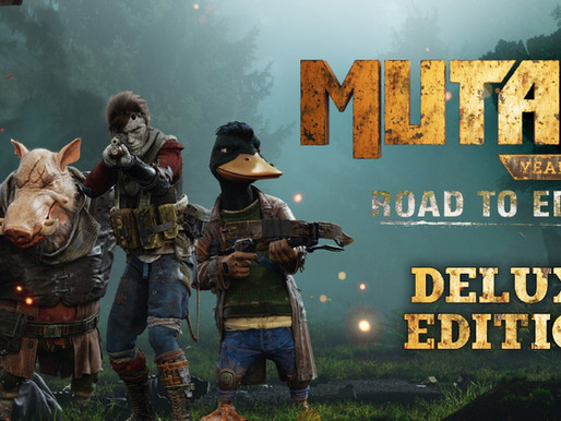 [Especia]Mutant Year Zero: Road to Eden-Deluxe Edition - Análise para Switch