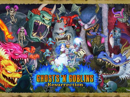 Ghost'n Goblins Resurrection é anunciado e tem seu preço revelado no Brasil