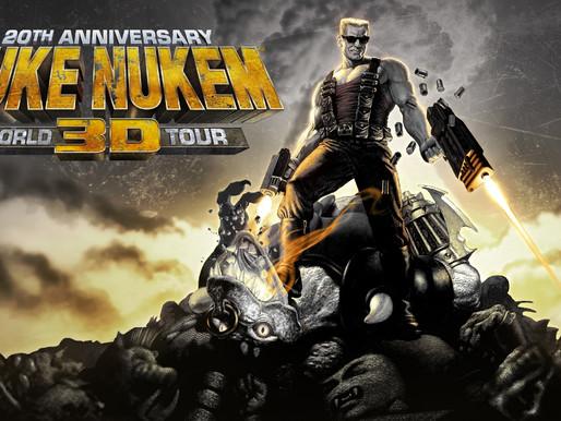 Duke Nukem 3D: World Tour 20º aniversário anunciado para Switch, chega na próxima semana