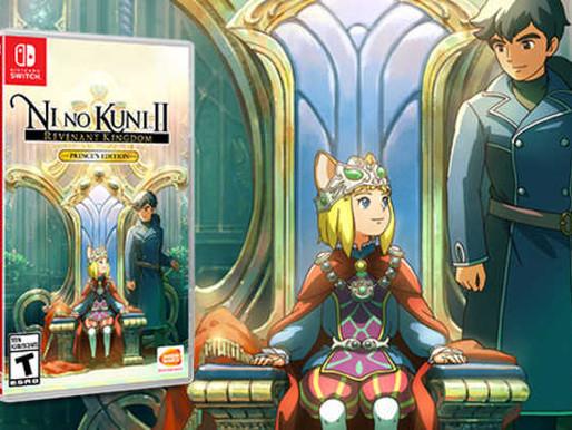 NI NO KUNI II: REVENANT KINGDOM - PRINCE'S EDITION CHEGA EM SETEMBRO AO SWITCH - TRAILER