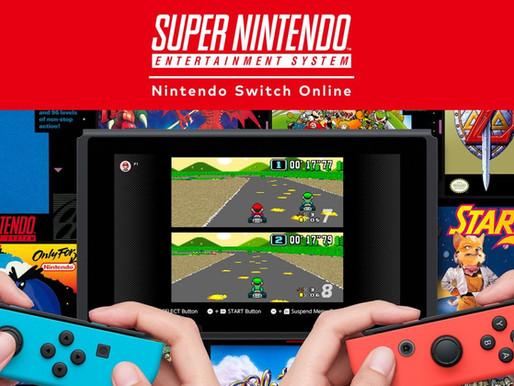 Jogos de SNES no Switch terão multiplayer online e mais