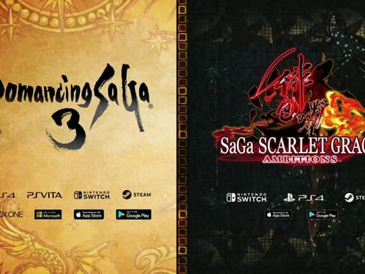 Square Enix está trazendo Romancing SaGa 3 para o ocidente em 11 de Novembro, SaGa Scarlet Grace Amb
