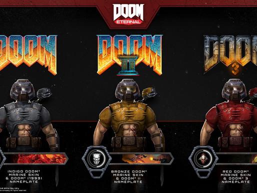 Atualizações de Doom e Doom II já estão disponíveis no Switch