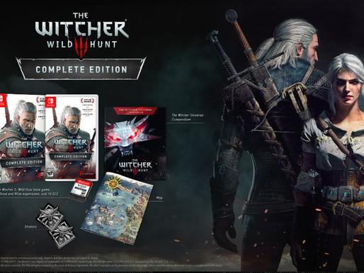 The Witcher 3 será distribuído de forma oficial pela Warner Bros em mídia física para  Switch no Bra