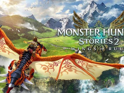 Monster Hunter Stories 2: Wings of Ruin Recebe Novo Trailer e Roteiro de Atualizações Pós-Lançamento