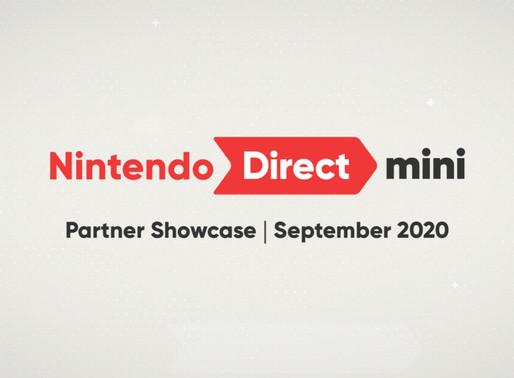 Nintendo Direct Mini - Partner Showcase é confirmado para Amanhã