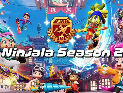 Trailer da 2ª temporada de Ninjala