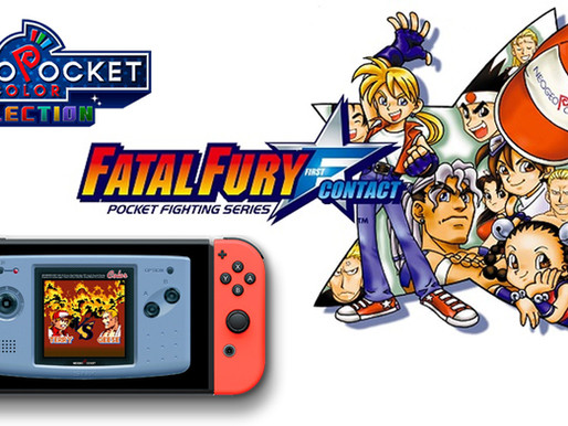 Review / Análise - Fatal Fury First Contact - O Clássico de Neo Geo Pocket agora no Nintendo Switch