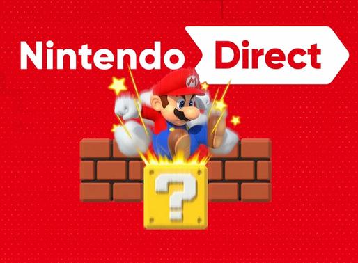 Um Nintendo Direct pode acontecer entre agosto e setembro com grandes surpresas