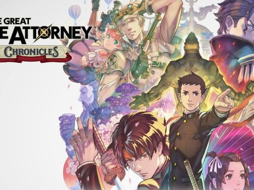 Trailer de The Great Ace Attorney Chronicles Leva a Série Ace Attorney a uma Nova Era